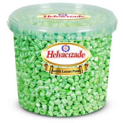 5 KG Yeşil Nane Akide Şekeri